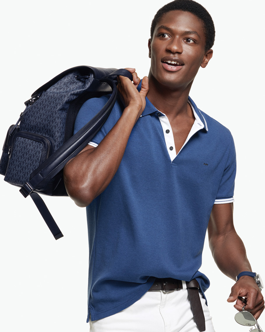 cb879820 The shirt you'll reach for again and again, in fresh colors and trimmings  for the season. SHOP POLO SHIRTS